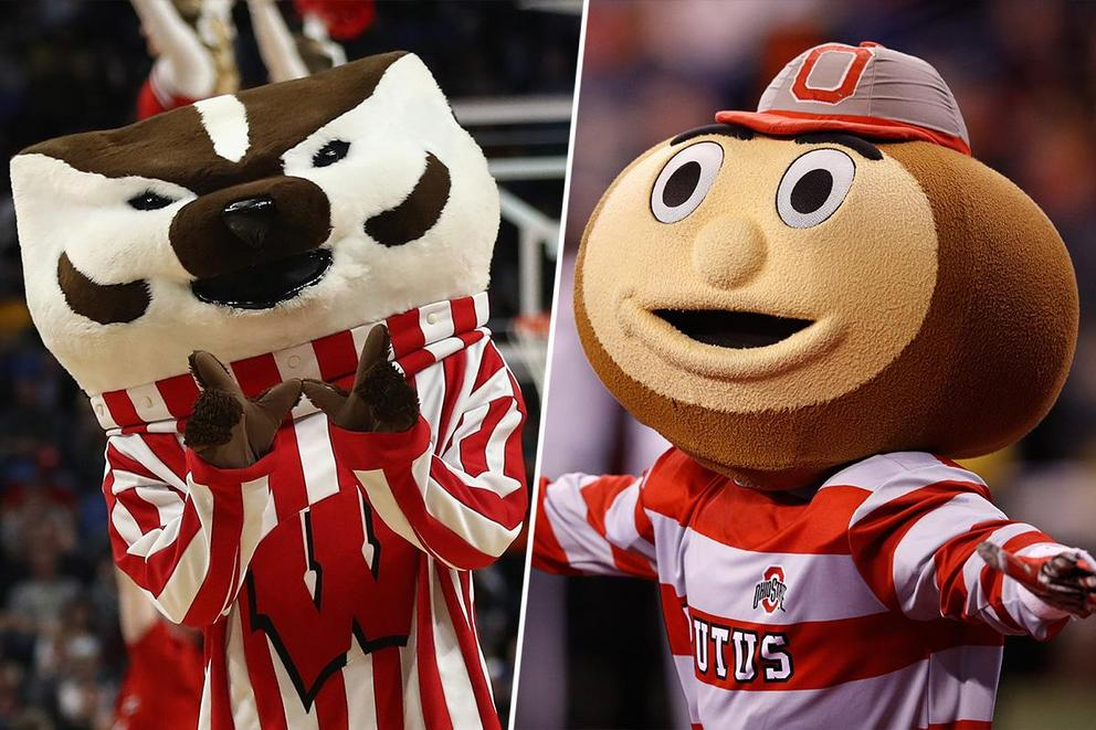 Best college mascot: Bucky Badger or Brutus?