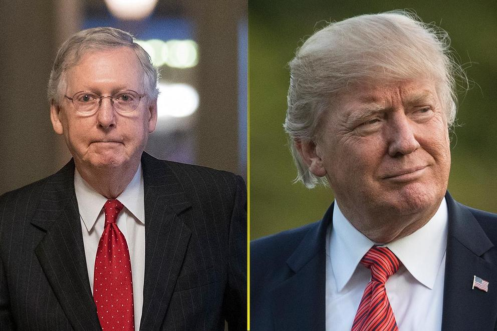 Who's obstructing President Trump's agenda: Congress or President Trump?