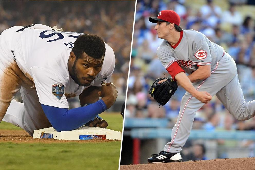 Who won the Dodgers-Reds trade?