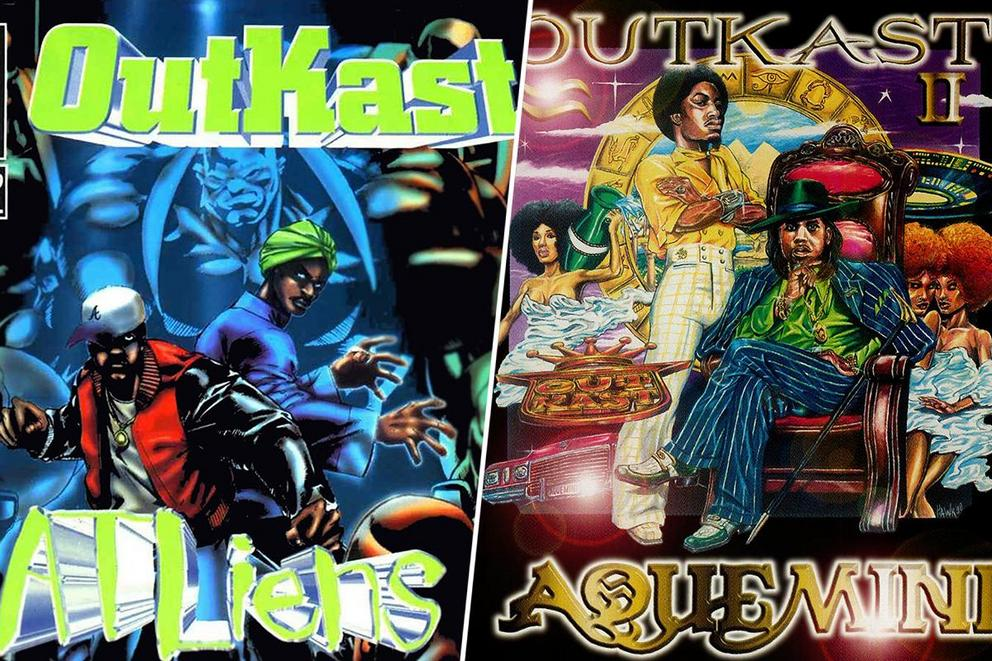 Favorite old school OutKast album: 'ATLiens' or 'Aquemini'?