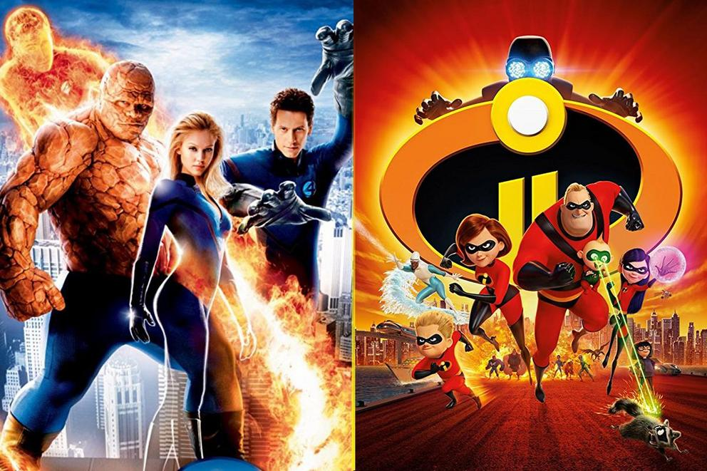 Is 'The Incredibles' just a ripoff of the 'Fantastic Four'?