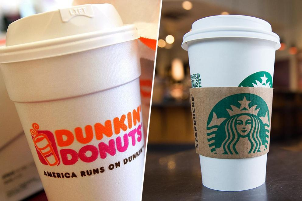 Ultimate coffee chain: Dunkin' or Starbucks?