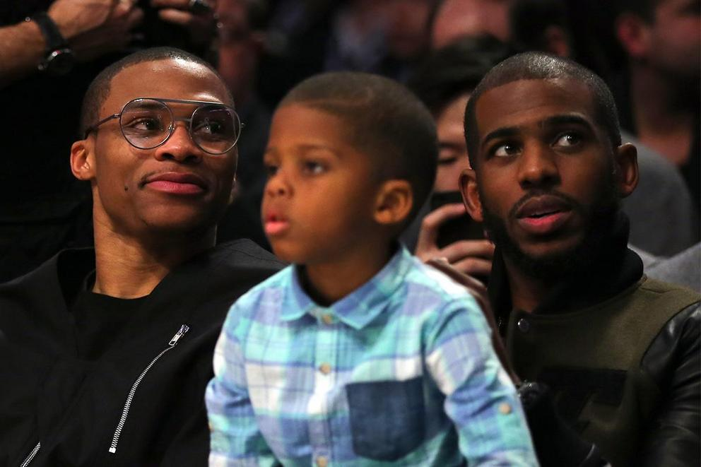 Who won the Russell Westbrook-Chris Paul trade?