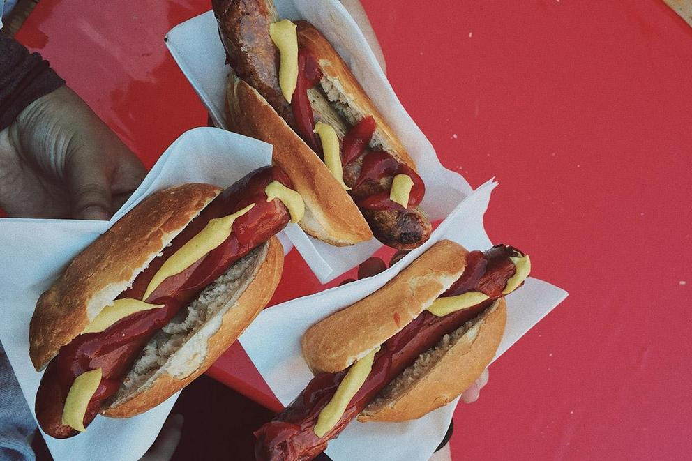 Which goes better on a hot dog: ketchup or mustard?