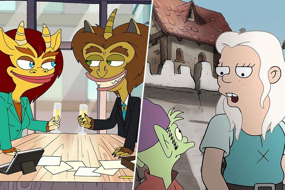 Netflix's best breakout adult cartoon: 'Big Mouth' or 'Disenchantment'?