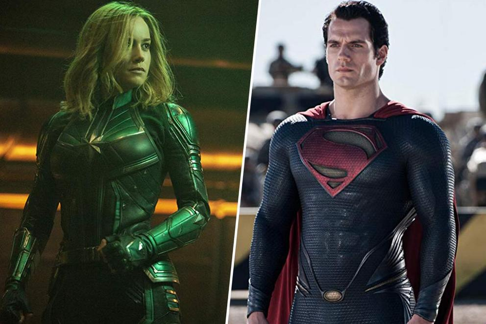 Captain Marvel vs. Superman: Who's more powerful?