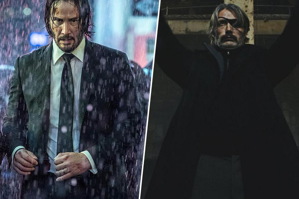 Which neo-noir action movie is dominating 2019: 'John Wick 3' or 'Polar'?