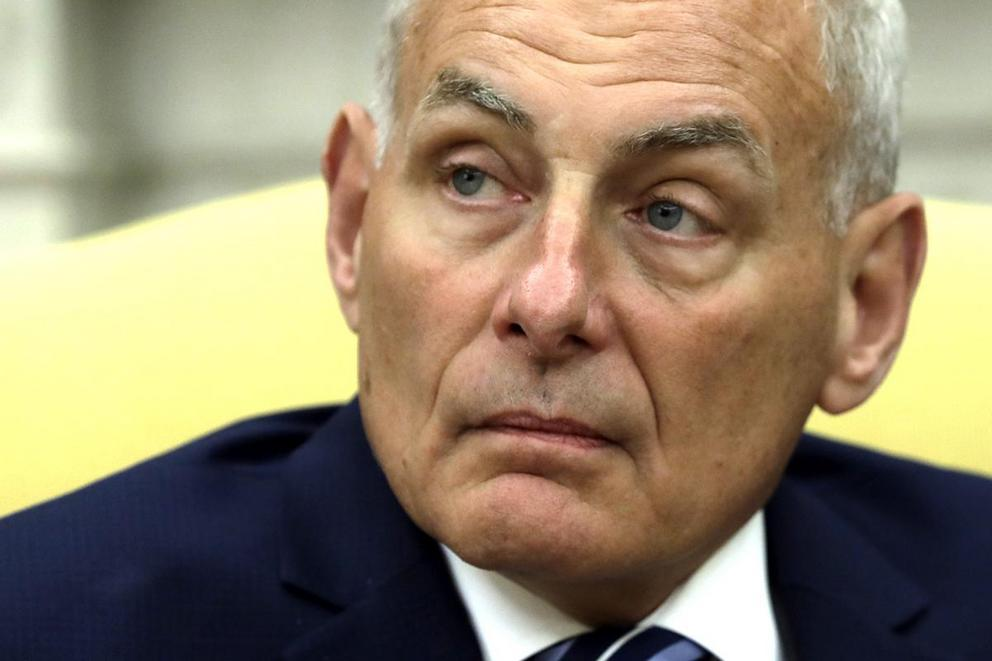 Can John Kelly fix the chaos at the White House?
