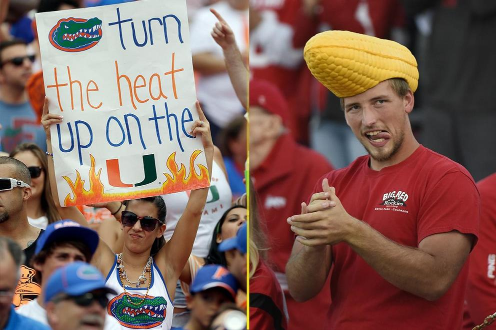 NCAA's Best College Fan Base: Florida or Nebraska?