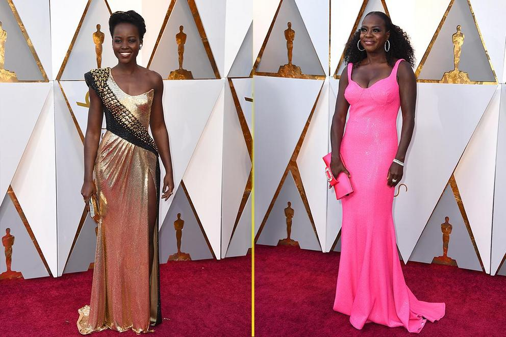 Best dressed at the Oscars: Lupita Nyong'o or Viola Davis?