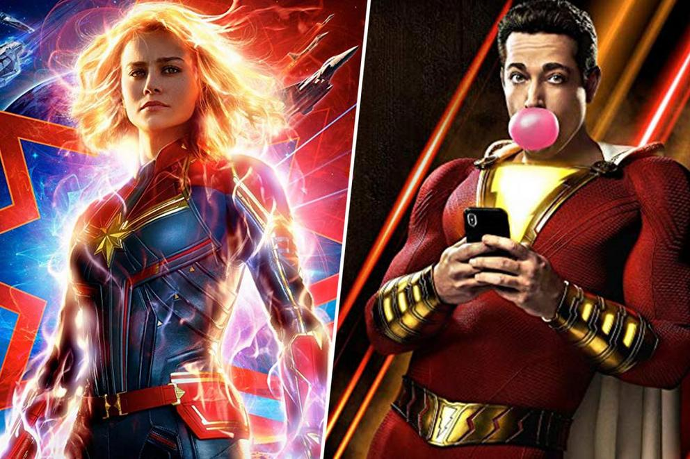 Most marvelous superhero movie character: Captain Marvel or Shazam?