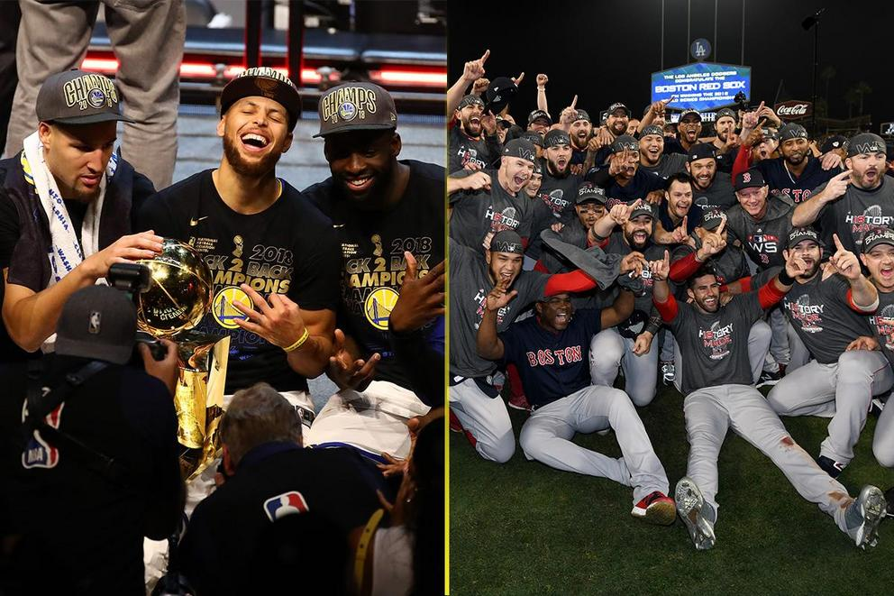 Most dominant sports team of 2018: Golden State Warriors or Red Sox?
