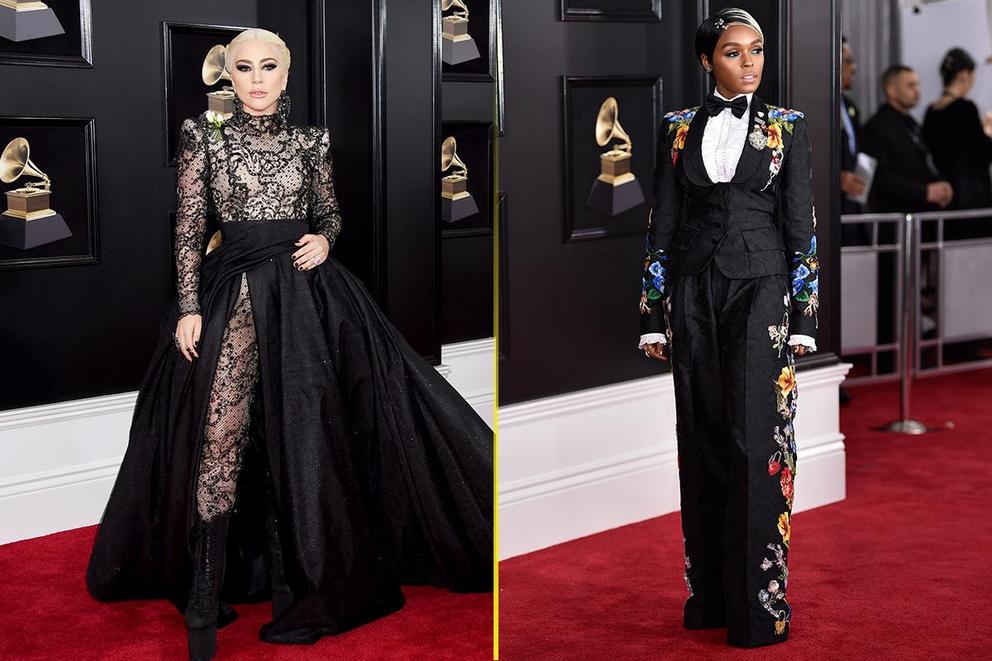Best dressed at the Grammys: Lady Gaga or Janelle Monae?