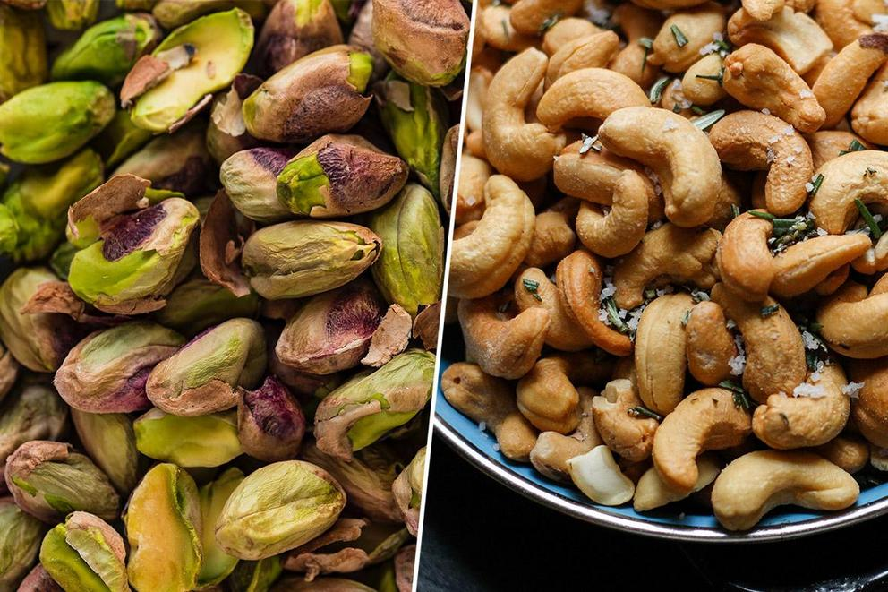 Best type of nut: Pistachio or cashew?