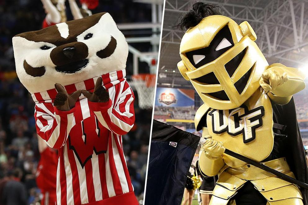 Best college mascot: Bucky Badger or Knightro?
