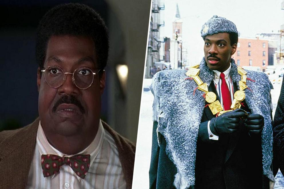 Which is the most iconic Eddie Murphy movie: 'The Nutty Professor' or 'Coming to America'?