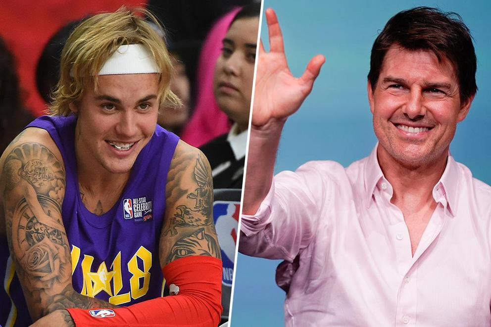 Whose side are you on: Justin Bieber or Tom Cruise?