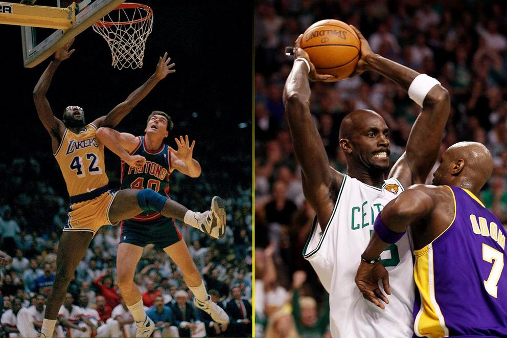 Which NBA tough guy would win in a fight: Bill Laimbeer or Kevin Garnett?