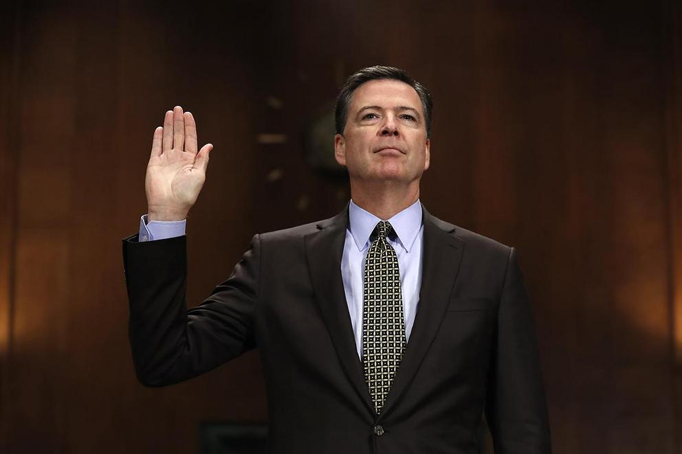 Is James Comey a hero or a nut job?