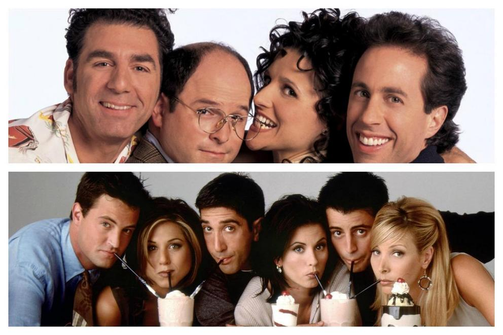 Which is the better '90s TV sitcom: 'Seinfeld' or 'Friends'?