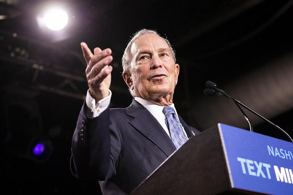 Would you vote for Mike Bloomberg to be President?