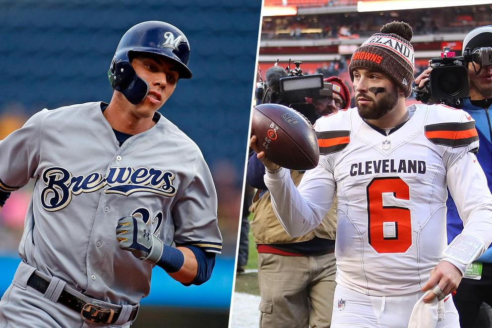 Who would you rather have at your party: Christian Yelich or Baker Mayfield?