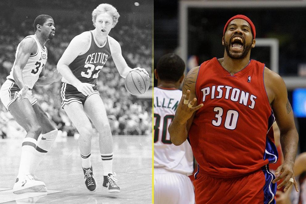 Best NBA trash talker: Larry Bird or Rasheed Wallace?
