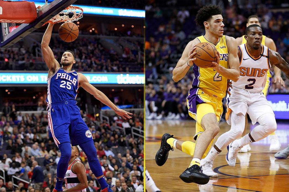 Which NBA rookie would you rather have on your team: Ben Simmons or Lonzo Ball?