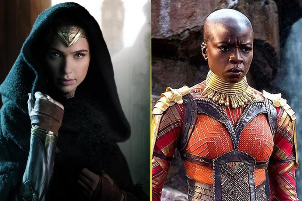 Who's the most badass heroine: Wonder Woman or Okoye?