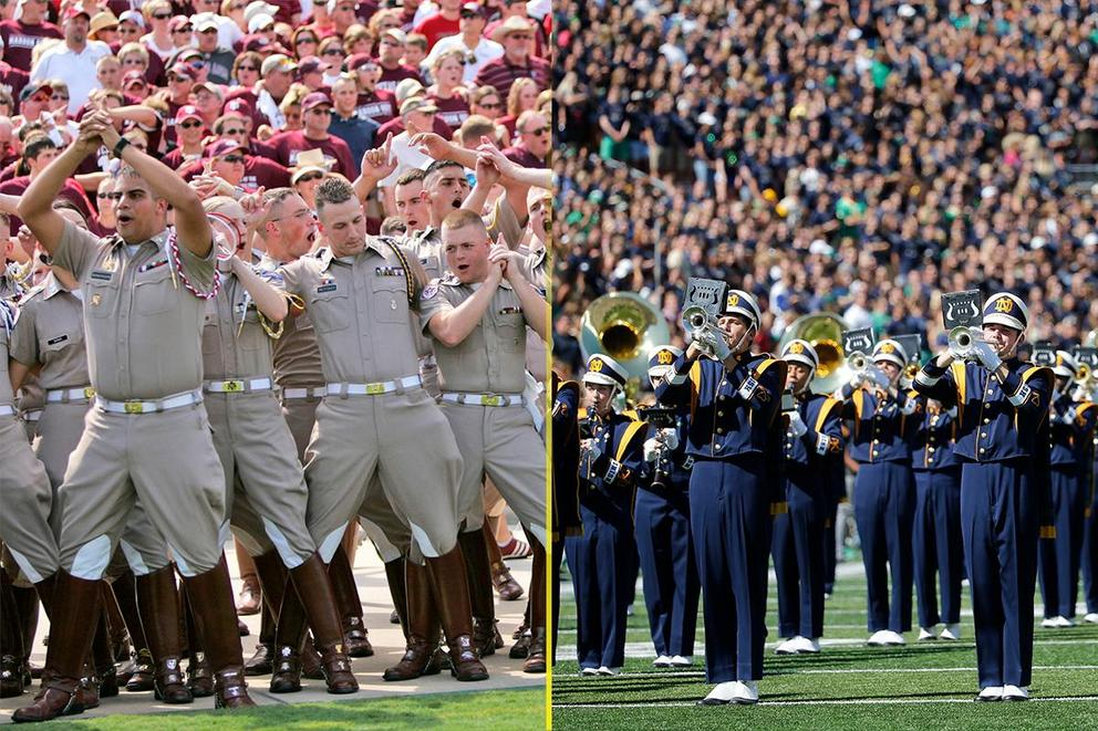 Best college fight song: Texas A&M or Notre Dame?