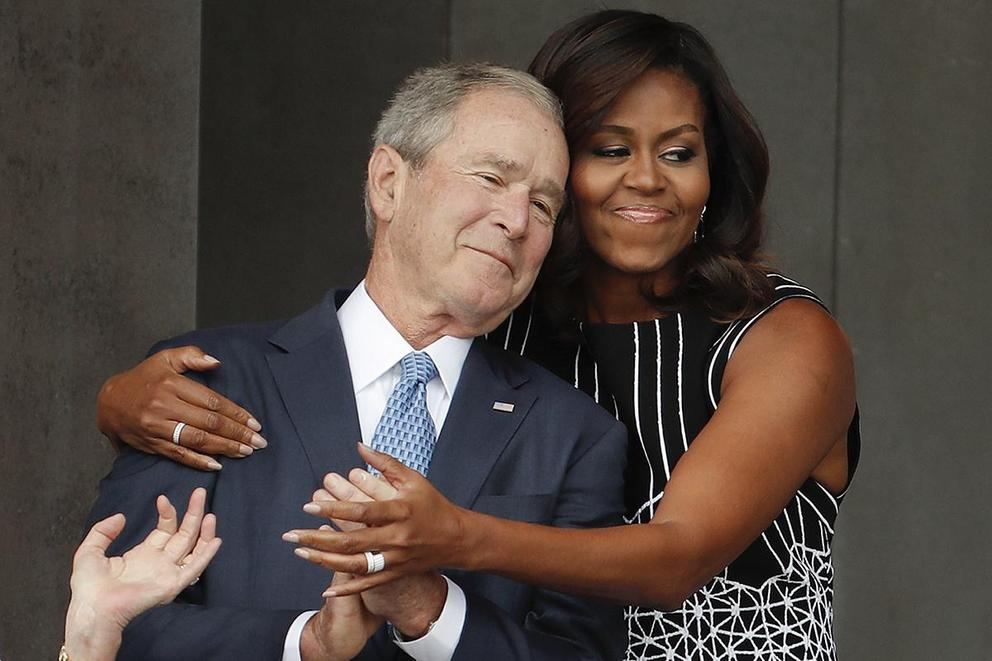 Is Donald Trump making you finally appreciate George W. Bush?