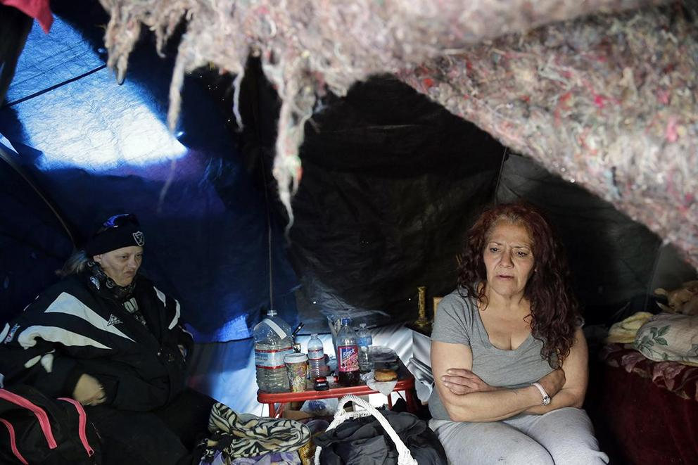 Should homeless people be allowed to camp in public?