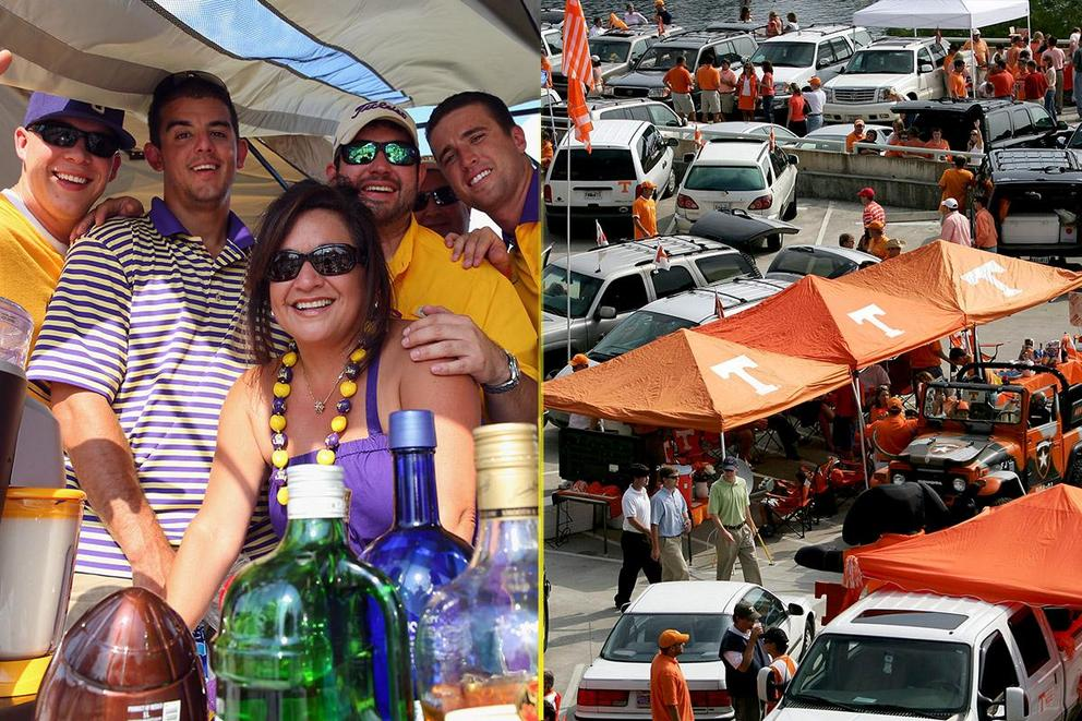 Who has the best tailgate: LSU or Tennessee?
