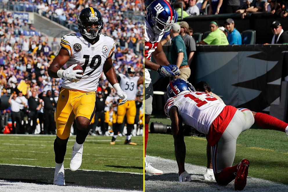 Better NFL touchdown celebration: JuJu Smith-Schuster or  Odell Beckham Jr.?