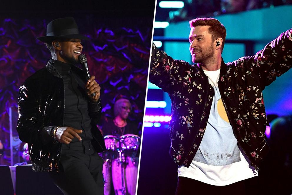 Favorite male entertainer of the aughts: Usher or Justin Timberlake?
