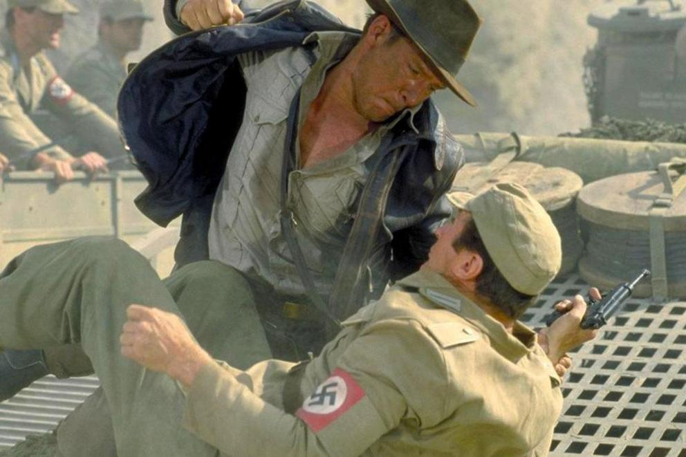 Is it okay to punch a Nazi?