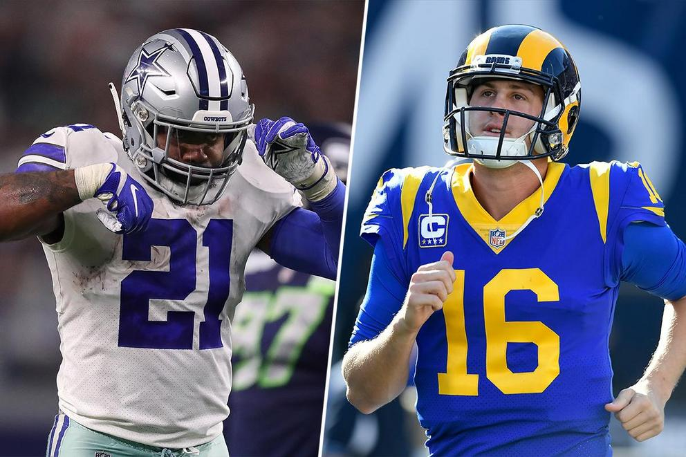 You need rent money. Who helps you first: Ezekiel Elliott or Jared Goff?
