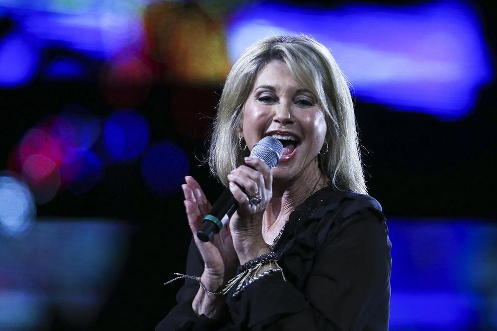 Which song is Olivia Newton-John's most iconic?