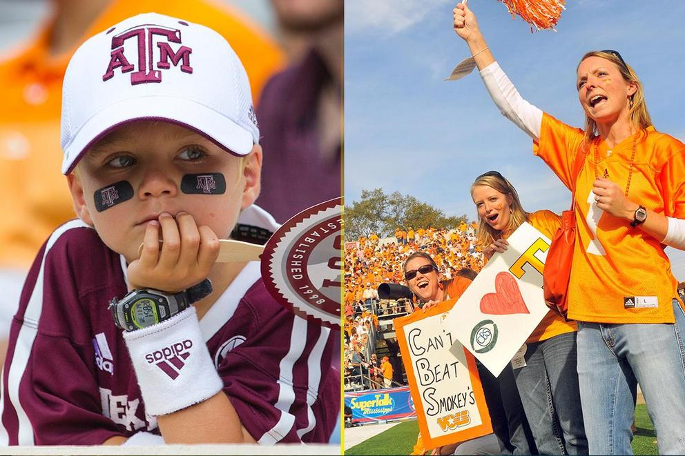 NCAA's Best College Fan Base: Texas A&M or Tennessee?