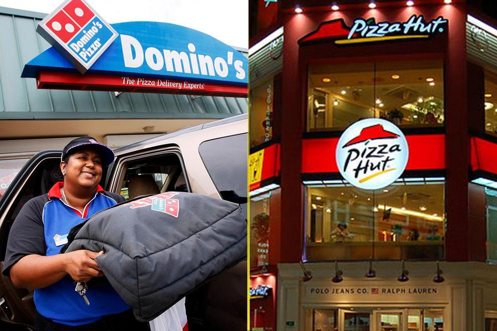 Which pizza chain is better: Domino's or Pizza Hut?