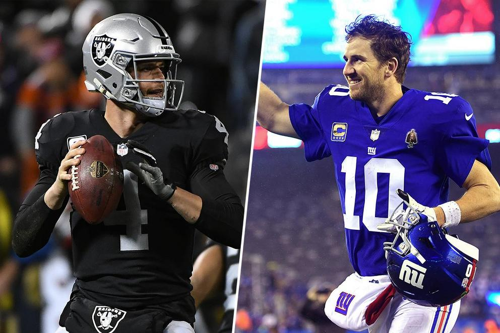 Who would you rather see on HBO's 'Hard Knocks': Raiders or Giants?