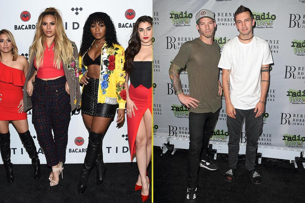 Kids' Choice Awards Favorite Music Group: Fifth Harmony or Twenty One Pilots?