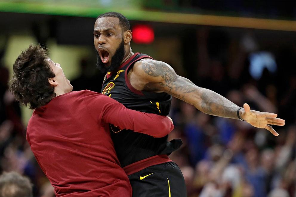 Was LeBron James' game-saving block actually goaltending?