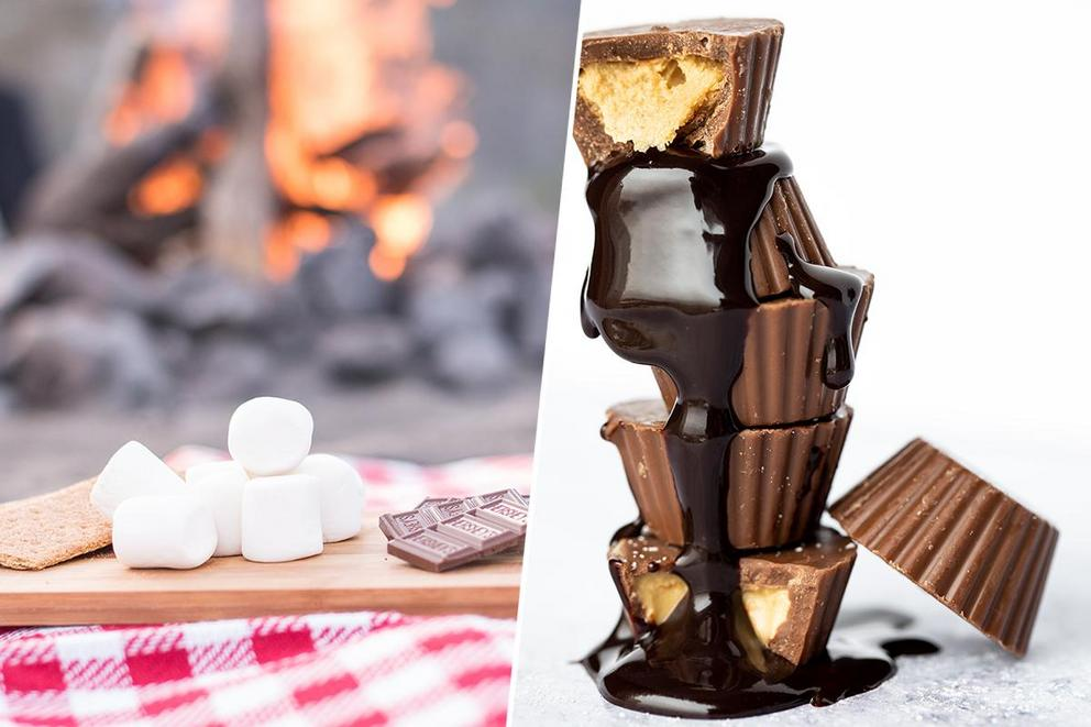 Best s'mores filling: Hershey bar or Reese's?
