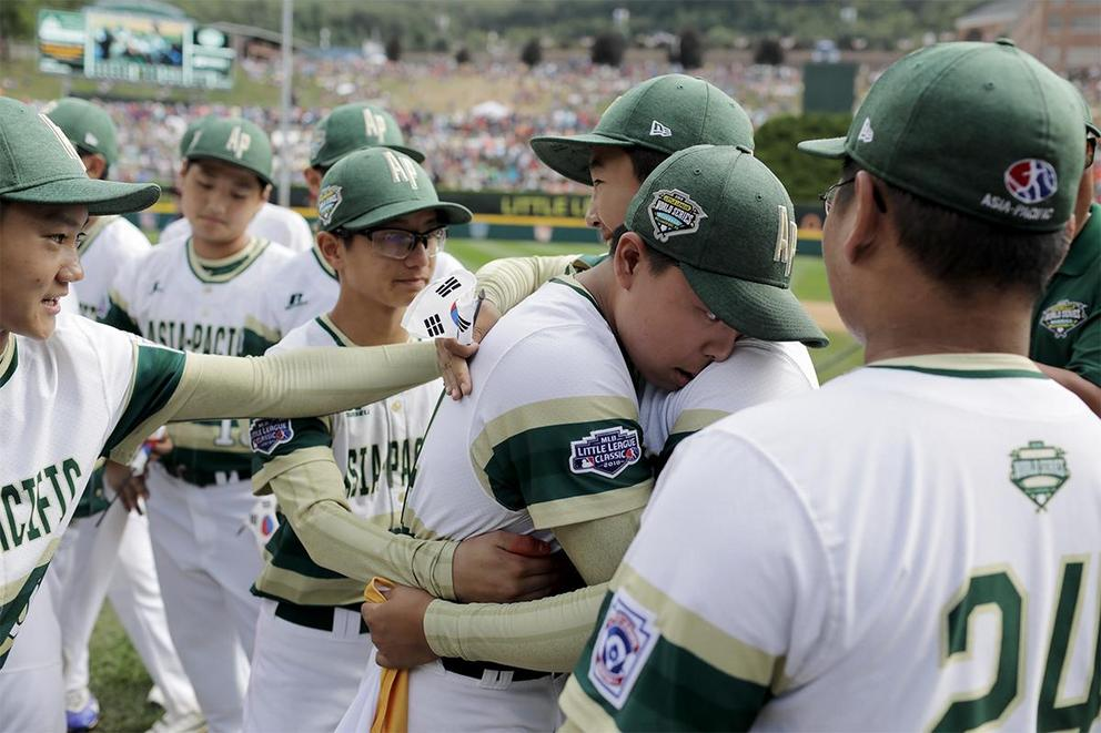 Do televised games put too much pressure on kids in the Little League World Series?