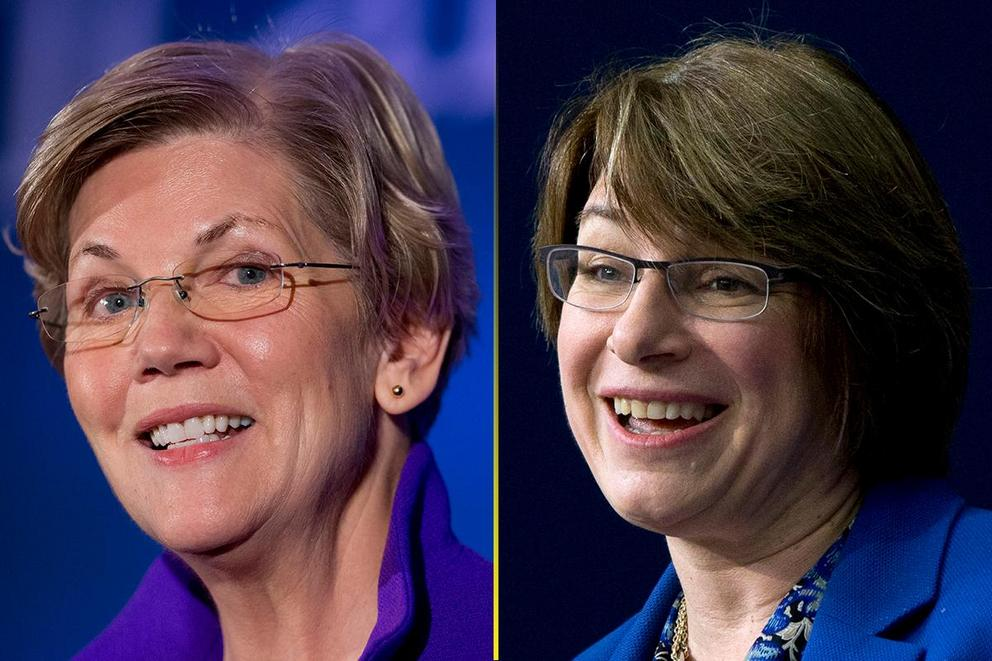 Who should be the first female president: Elizabeth Warren or Amy Klobuchar?