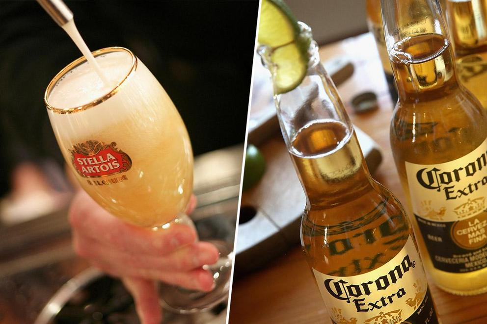 America's favorite beer: Stella or Corona?