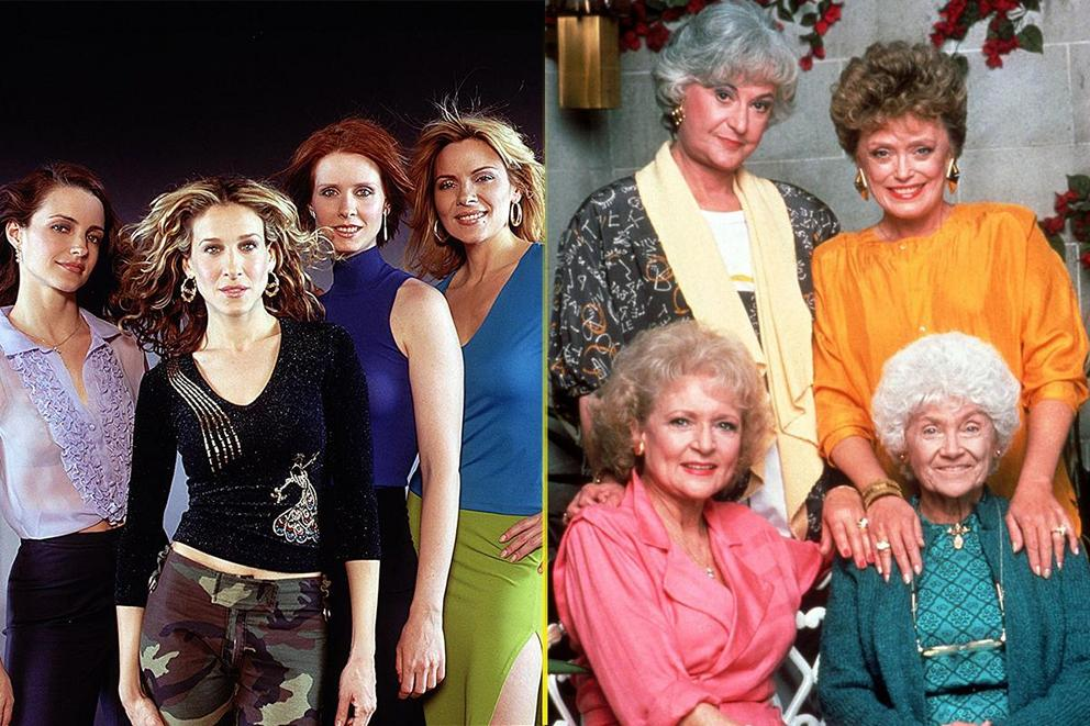 Most groundbreaking show about four women: 'Sex and the City' or 'The Golden Girls'?