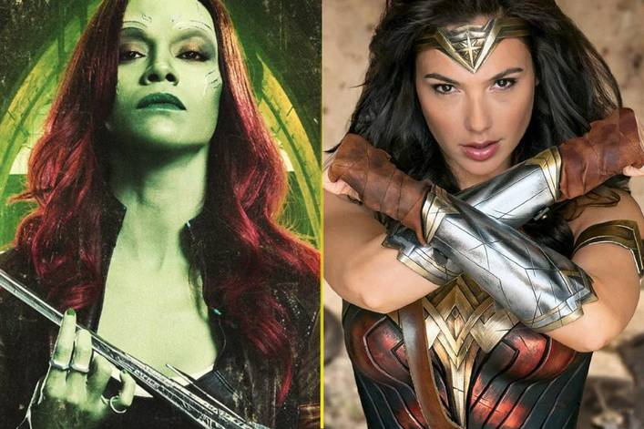 Best superhero blockbuster of 2017 so far: 'Guardians of the Galaxy Vol. 2' or 'Wonder Woman'?
