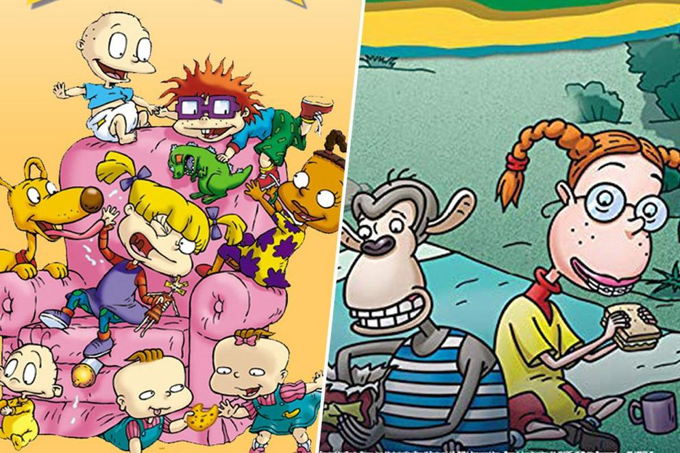 Favorite adventurous cartoon: 'Rugrats' or 'The Wild Thornberrys'?